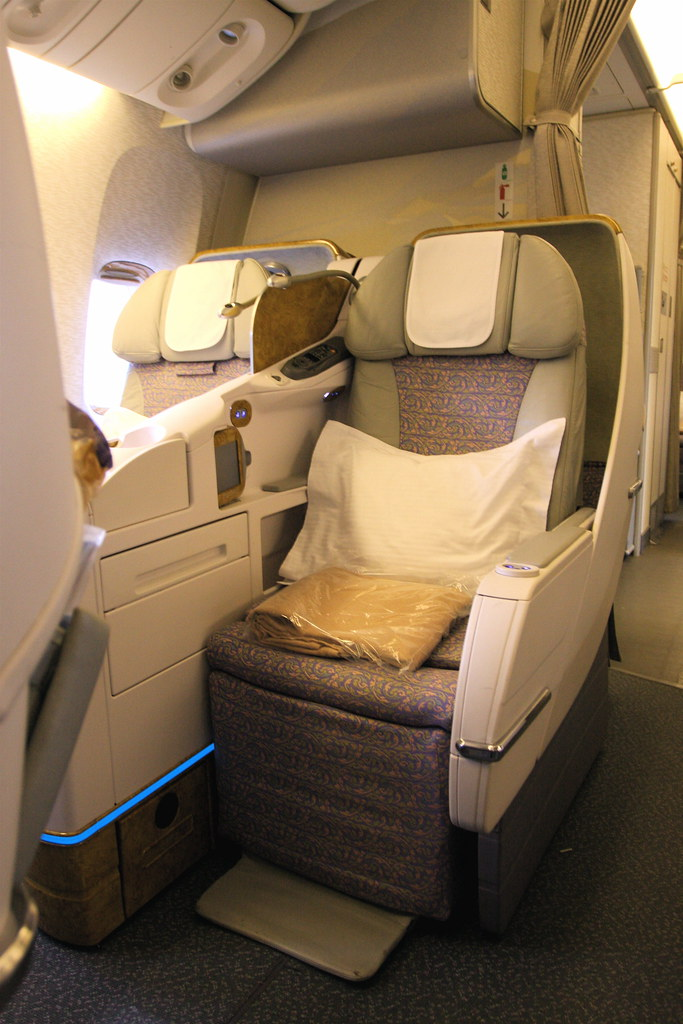 Emirates 777 300er Business Class Aside From The In