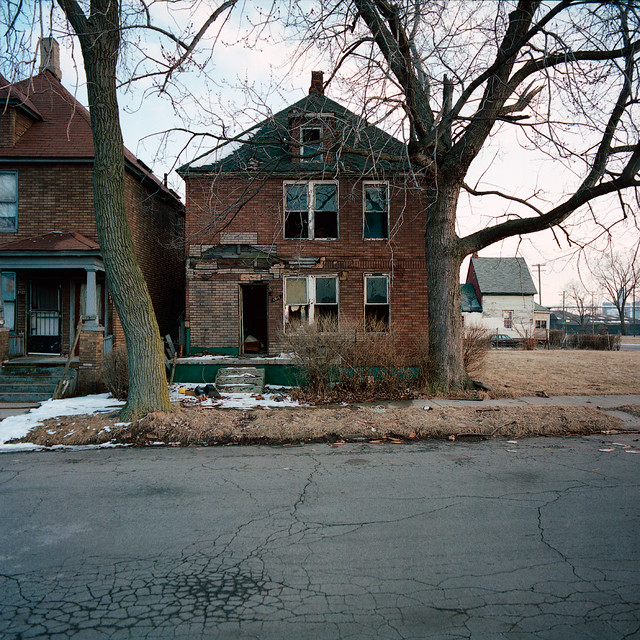 Abandoned House In Detroit, Michigan
