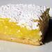 lemon bar on white