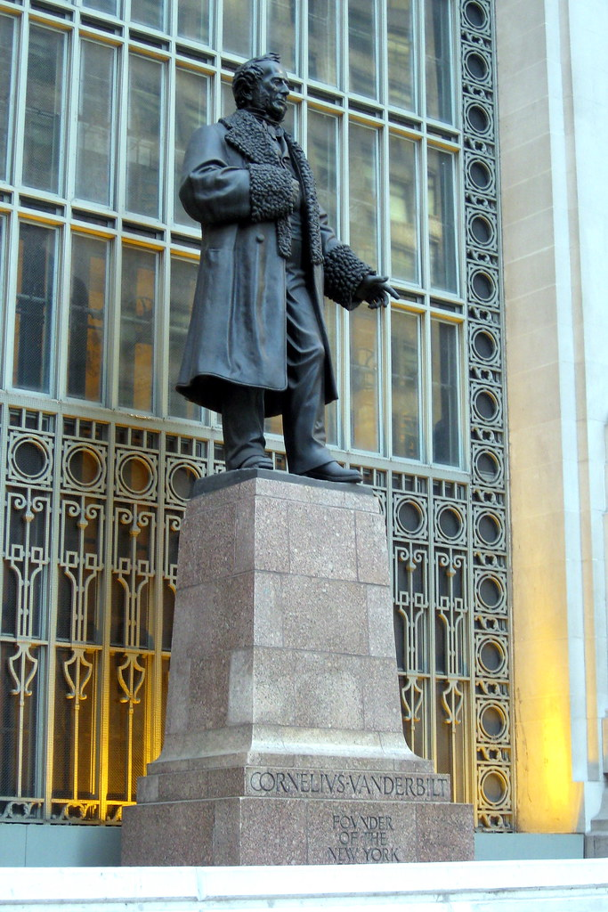 NYC - Grand Central Terminal: Commodore Cornelius Vanderbi ...