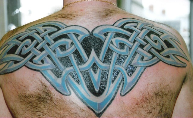 Irish Celtic Knotwork Cover Up Tattoo This Is A Big Coveru Flickr