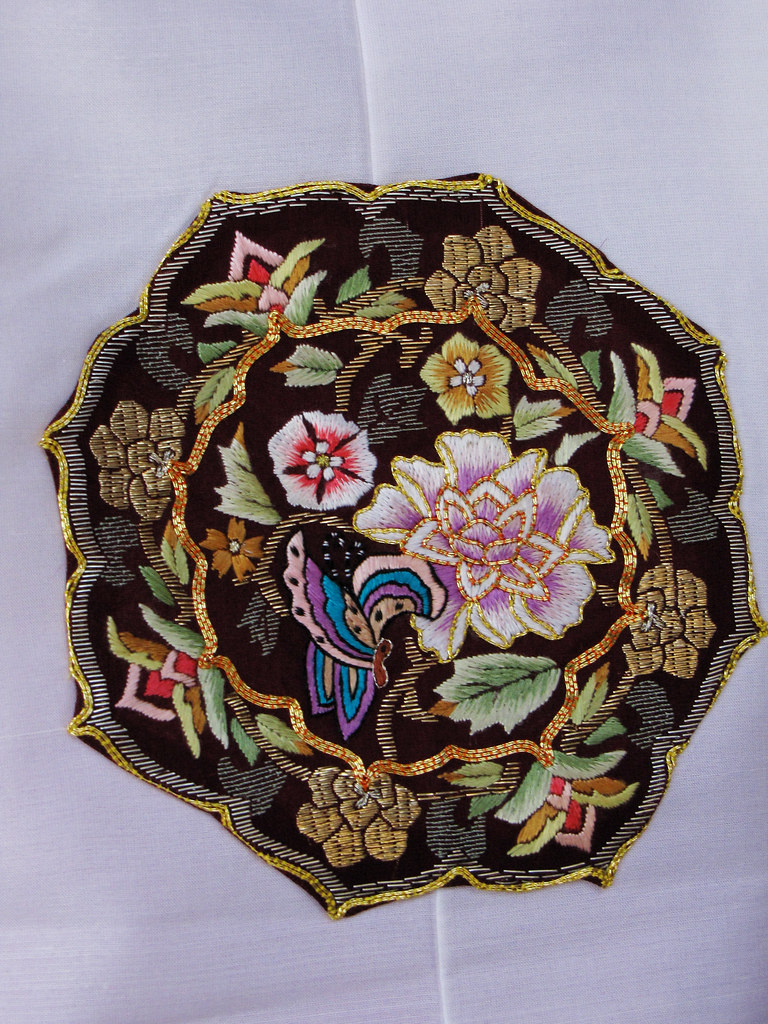 Korean Flower Embroidery Korean Embroidery | by
