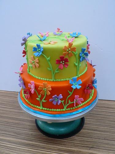 Garden Party cake Flickr - Photo Sharing!