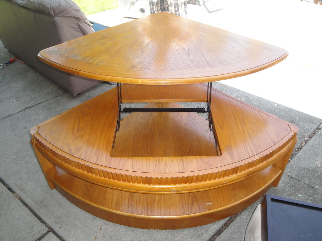 Sectional Coffee Table With Raising Table Top 150 Flickr