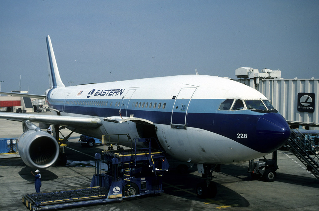 Airbus A300 0207 N228ea A300b4 Eastern Airlines Atlanta H