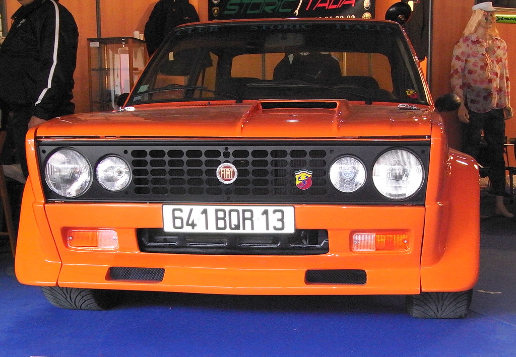 20090322 avignon motor festival fiat 131 abarth rally 19 flickr. Black Bedroom Furniture Sets. Home Design Ideas