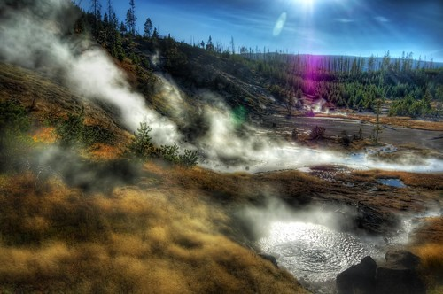 Where Geothermal Steam Covers the Land | by Stuck in Customs