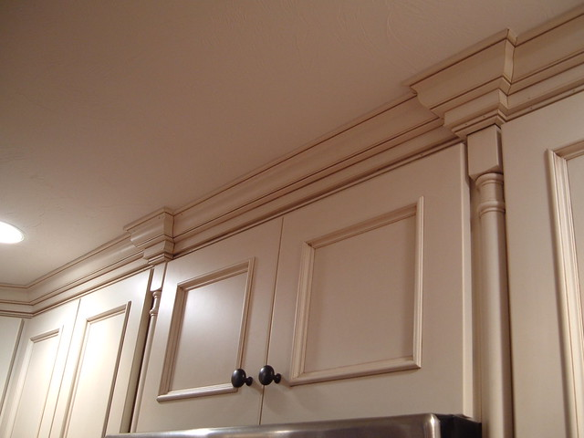 Kitchen Cabinets With Cornice Flickr Photo Sharing