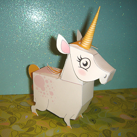 Unicorn Horn Craft Paper