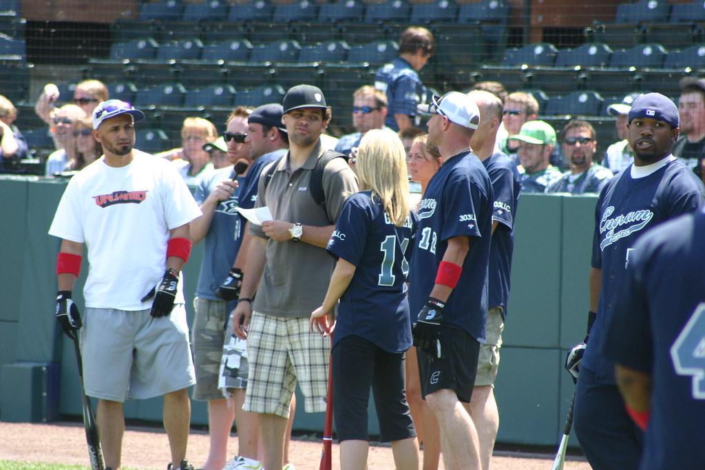 Bobby engram celebrity softball game