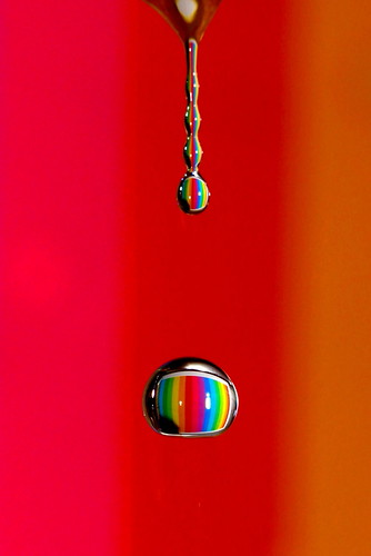 Rainbow waterdrops . | by kees straver (will be back online soon friends)