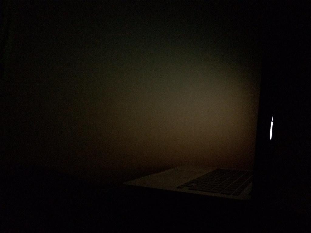 Dark Room With Light Wallpaper