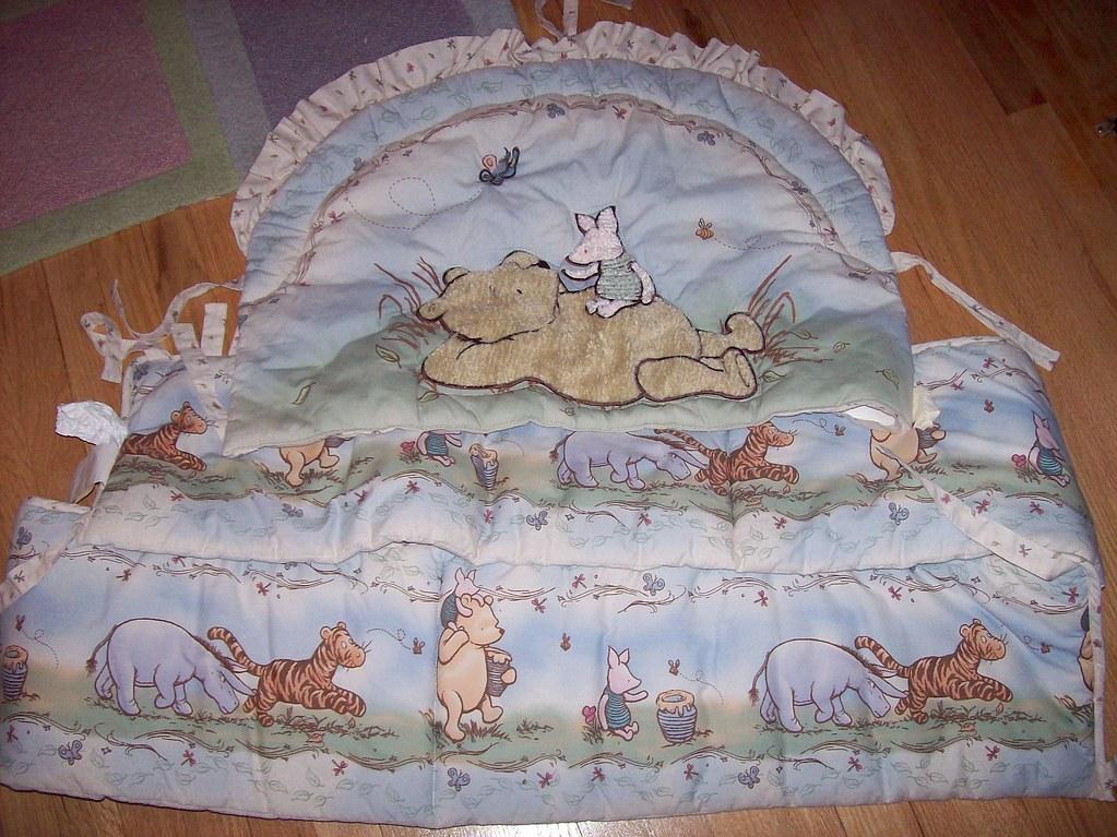 Classic Winnie The Pooh Crib Bedding 25 See
