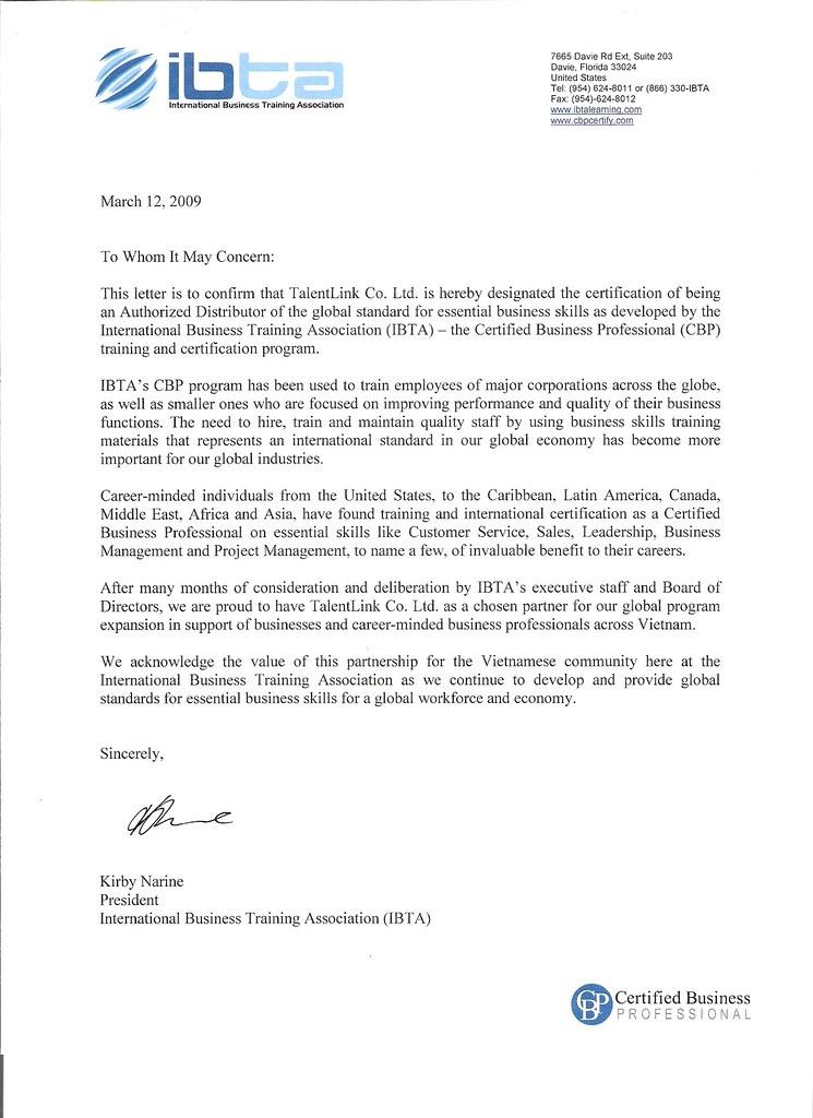 Vietnam Distributor Appointment Letter | Beminhmeo1809 | Flickr