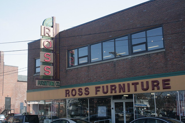 Ross Furniture  One of few façades left from that era in Do ...