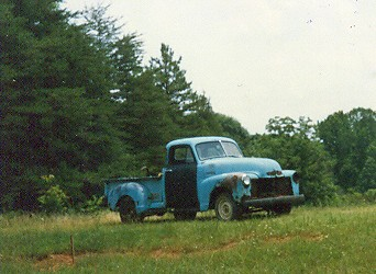 late 40s/early 50s chevy truck | for sale on roadside ...