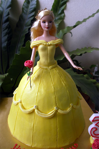 Belle Doll Cake Tracey Chooi Flickr