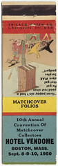 10th Annual Convention of Matchcover Collectors [Exterior]