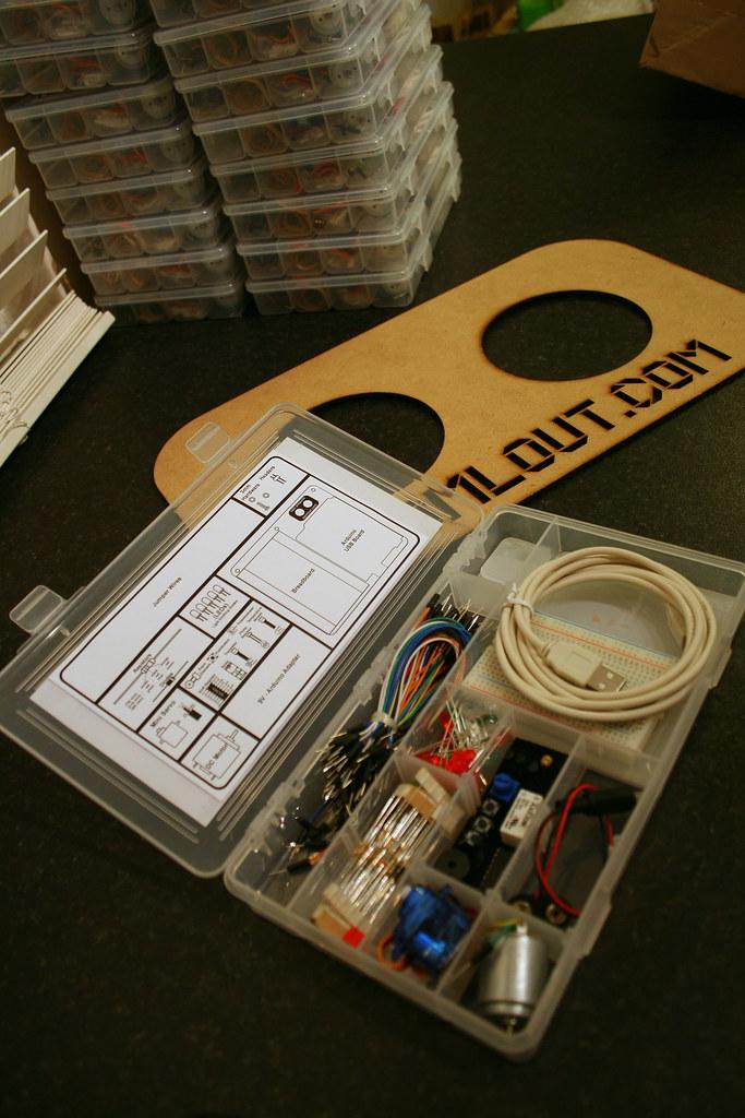 An arduino less expermentation kit like more details