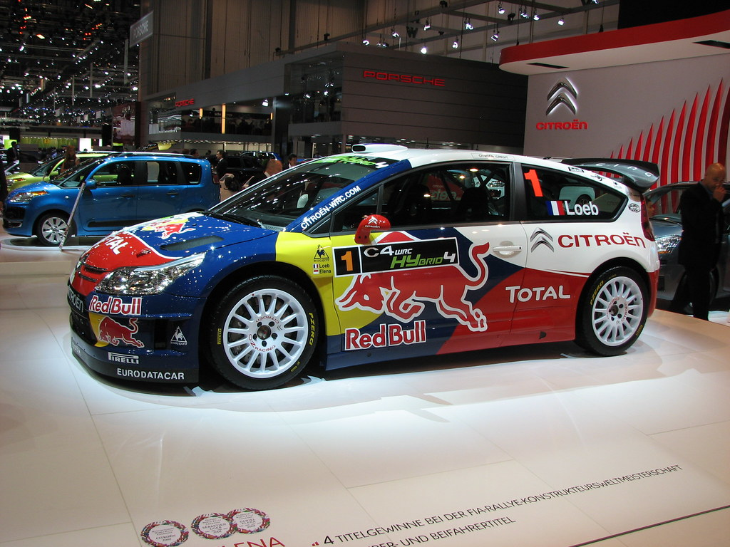 citroen c4 wrc hybrid 4 geneva 2009 simon chapman flickr. Black Bedroom Furniture Sets. Home Design Ideas