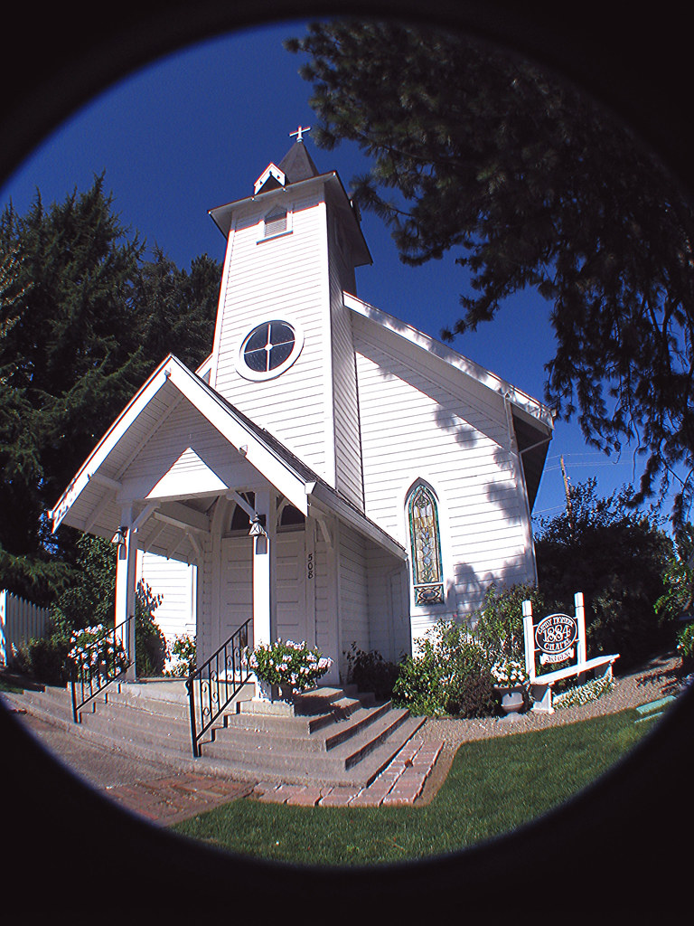 Angelinas Canby Pioneer Chapel Oregon CIRCA 1884 Church