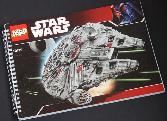 Star Wars Lego 10179 Ucs Millennium Falcon The Heavy Instr Flickr