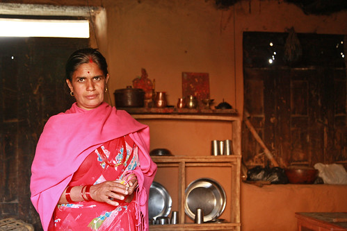 Portrait of woman in her home | by World Bank Photo Collection