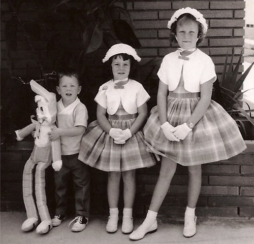1960-Dressed Up for Easter | My brother, myself and my ...