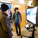 VFS Game Design Open House attendees play student-designed games
