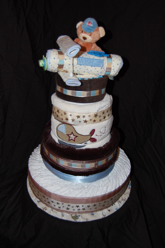 Pro Flyer Diaper Cake 84 Pampers Swaddlers Size 1 6