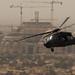 Helicopter over Baghdad