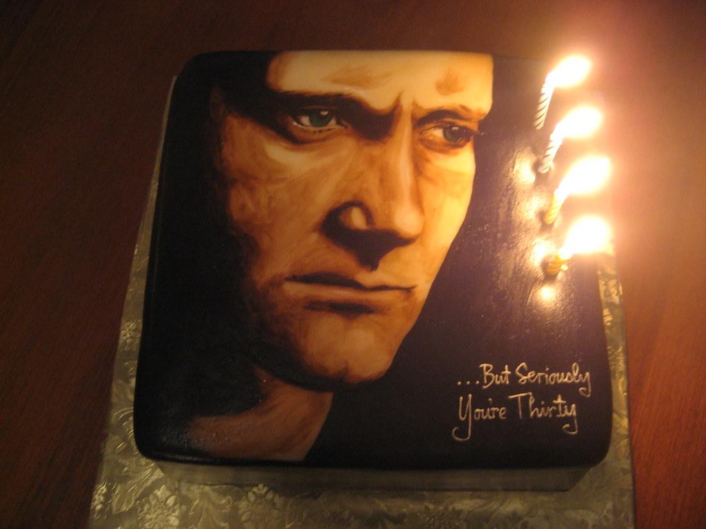 Phil Collins Birthday Cake