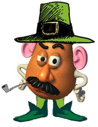 Irish Mr. Potato Head
