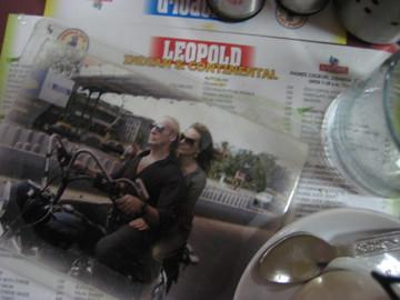 Shantaram And Karla At Leopold S Cafe For Katherine