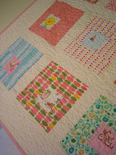 The Last Squares in Squares Quilt - detail | by alissahcarlton