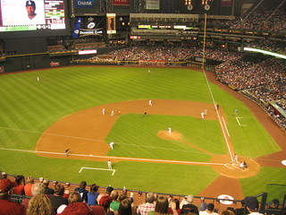 Arizona Diamondbacks 9, Los Angeles Dodgers 4, Chase Field, Phoenix, Arizona (22) | by Ken Lund
