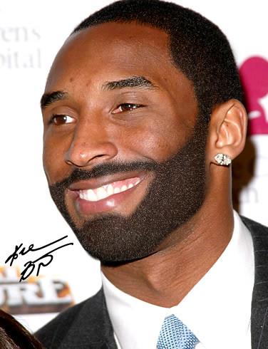 Kobe Bryant... with a beard | I decided to photoshop Kobe ...