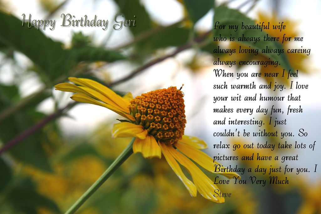 happy birthday geri