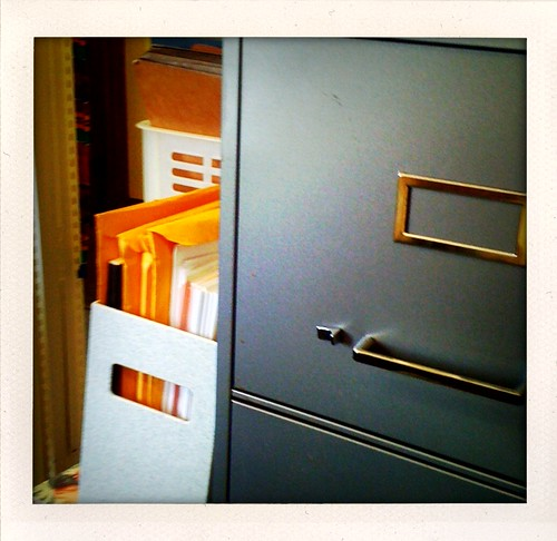 File cabinets. Think of the stock opportunities. | by jessica mullen