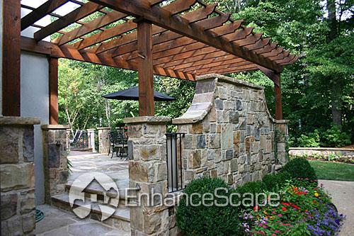 innovative 17 pergolas in gardens innovation - 31 Unique Pergolas In Gardens - Pixelmari.com