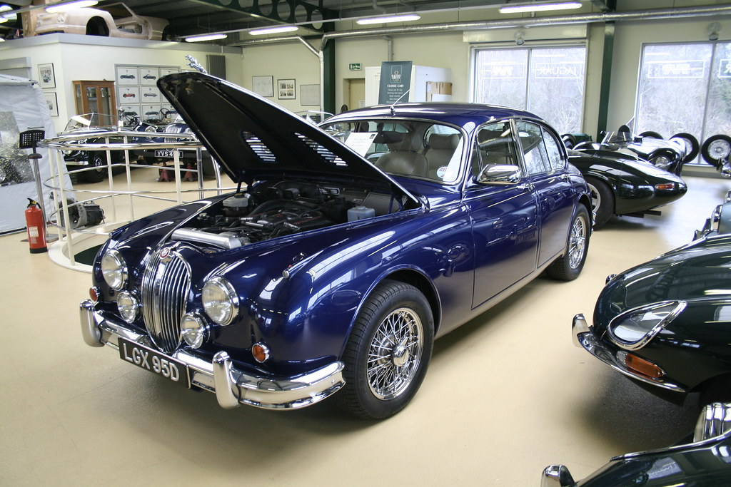 Beecham Jaguar Mk2 By Transplanting The Components From