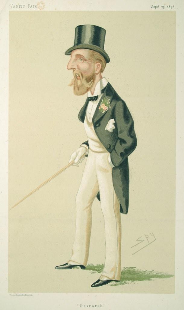 Viscount Dupplin Quot Petrarch Quot Artist Ward Leslie