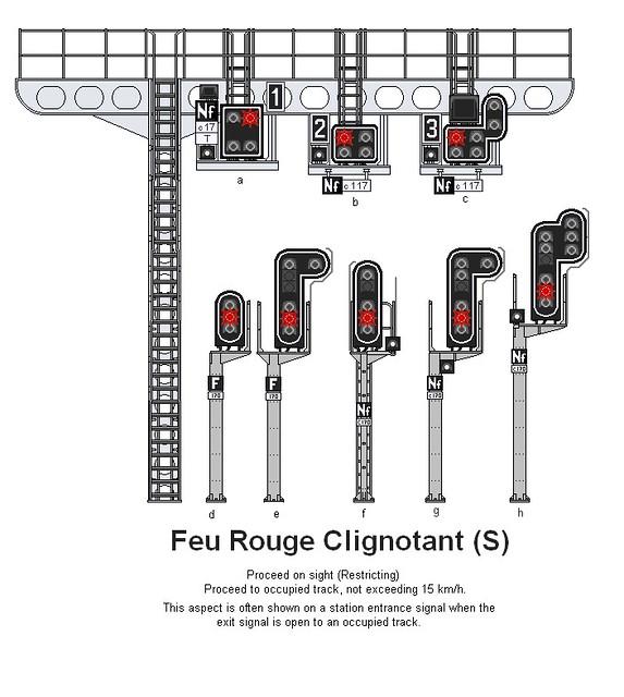 sncf luminous signal aspects feu rouge clignotant s flickr. Black Bedroom Furniture Sets. Home Design Ideas