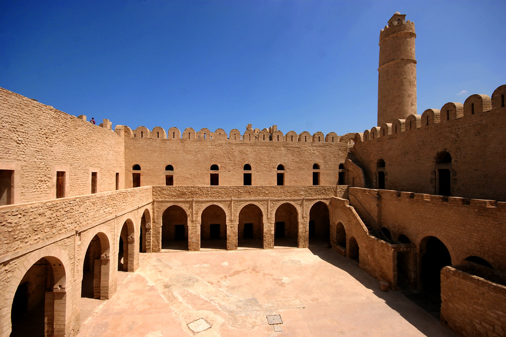 Inside The Ribat Sousse Tunisia North Africa Restored