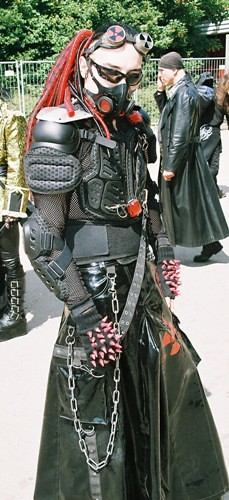 Cyber Goth Boy Taken At The Wave Gotik Treffen Festival