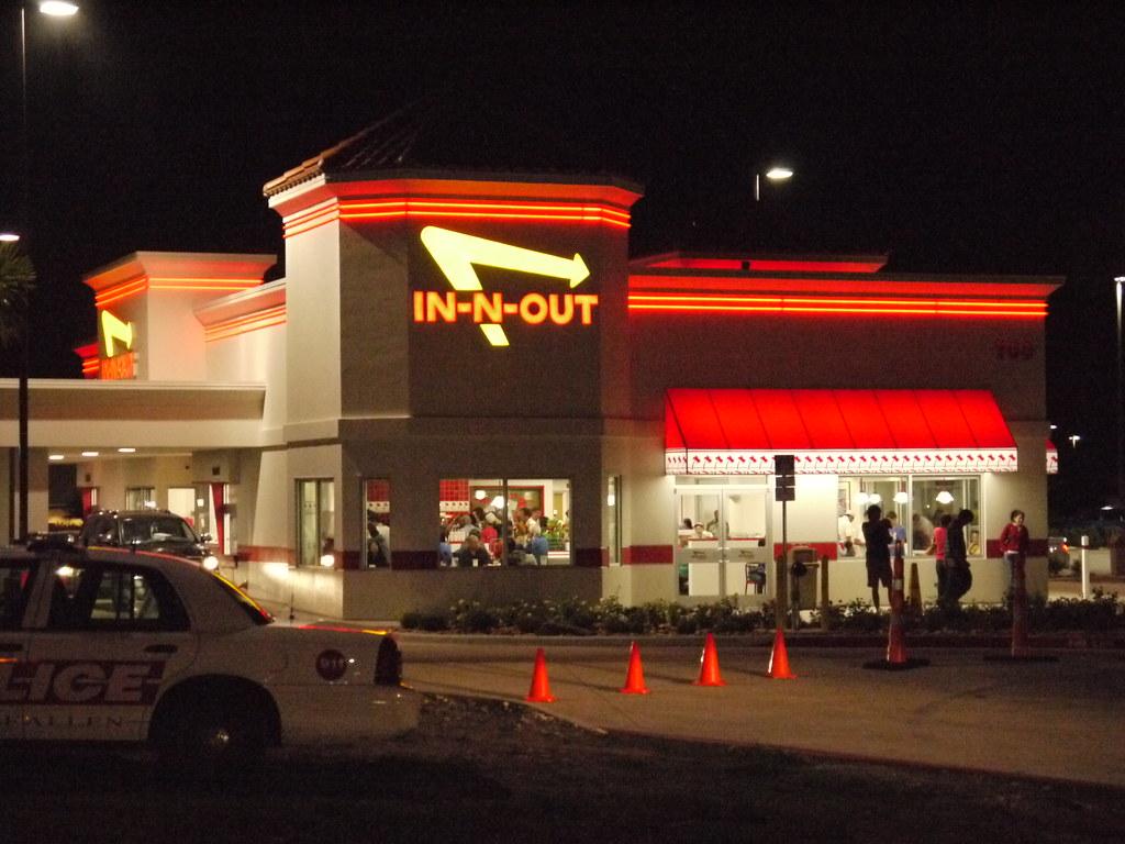 In N Out Burger Allen Tx