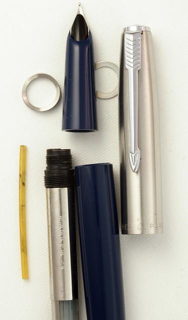 parker fountain pen parts
