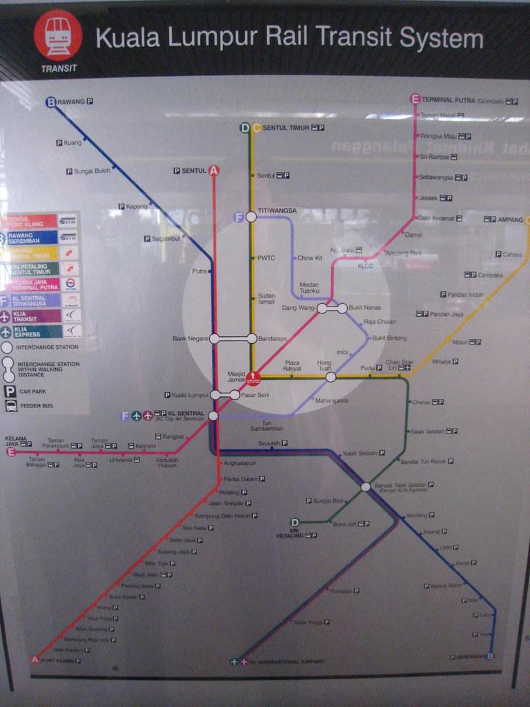 kuala lumpur metro map pdf