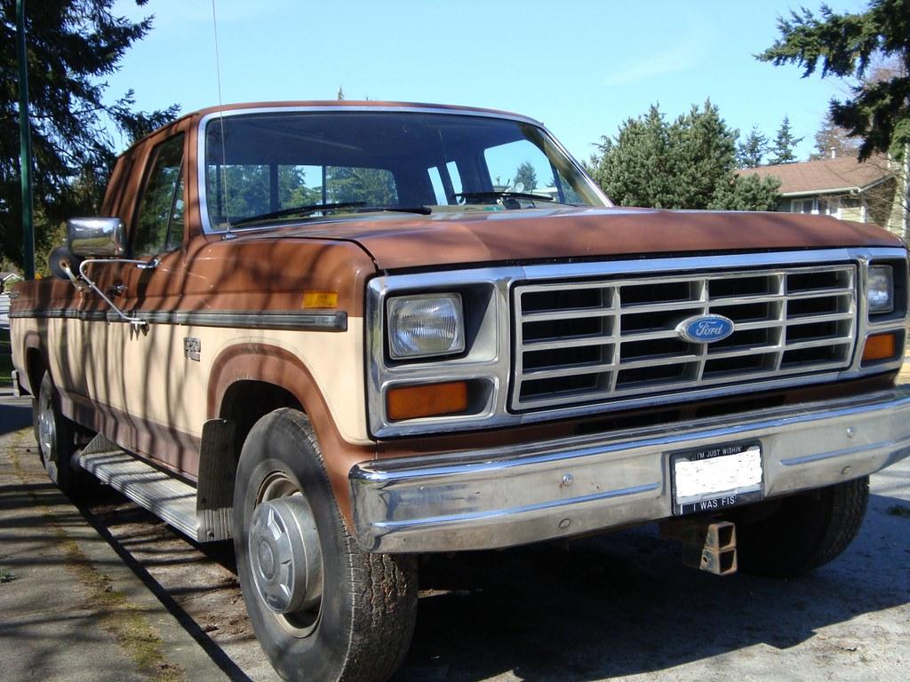 1986 ford f 250 supercab explorer pickup truck custom cab flickr. Black Bedroom Furniture Sets. Home Design Ideas