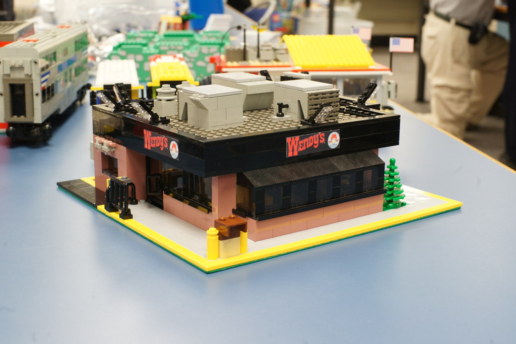Wendy's: LEGO® Moc | Based on location #3797 in the Van Dorn… | Flickr